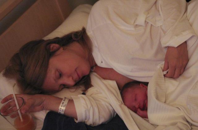 förlossningsberättelsen om när Ludvig