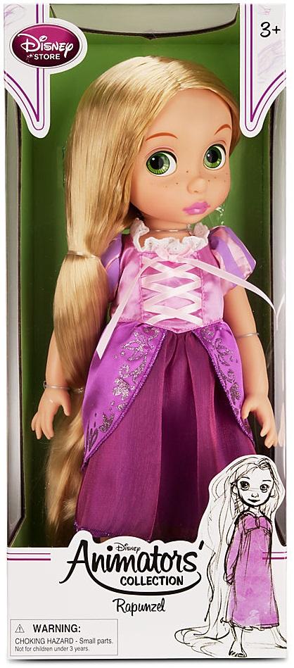 Rapunzel barndocka